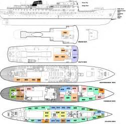 Cruise Ship Floor Plans by Sailing Ship Deck Plans Images