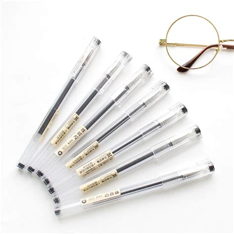 0 35mm Pen 0 35mm porous point pens gel ink pen black ink office