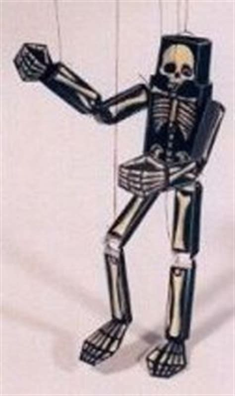 Skeleton Papercraft - paper skeleton marionette paper craft papercraft