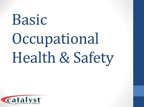 the basics of occupational safety 3rd edition what s new in trades technology books basic occupational health safety