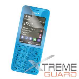 Lcd Hp Nokia Asha 206 new xtremeguard clear lcd screen protector shield skin for nokia asha 206 ebay