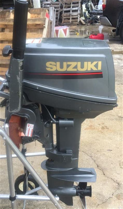 Suzuki 9 9 Outboard For Sale Used 1997 Suzuki 9 9 Hp Outboard Motor For Sale Suzuki