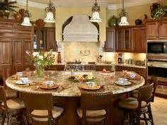 Round Kitchen Island With Seating by 1000 Images About Kitchen Island Renovation On Pinterest