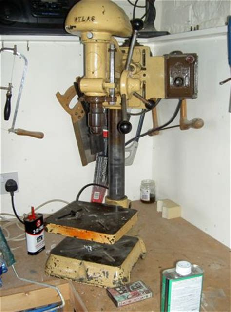 bench pro drill press image gallery old atlas drill press