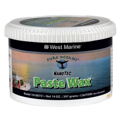 natural boat wax pure oceans pure oceans nanotec paste wax west marine
