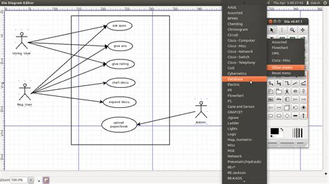 uml creator ubuntu dia a tool for drawing uml and other