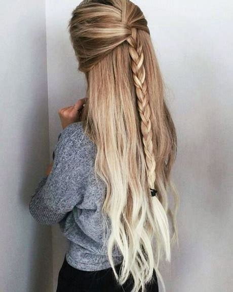easy everyday hairstyles for long hair 2018 hairstyles for long hair everyday