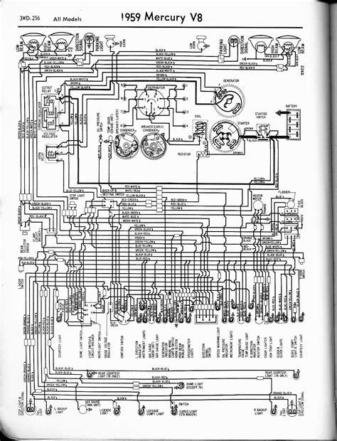 mercury wiring harness diagram 1951 mercury project car