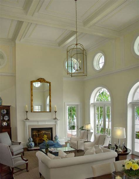 Living Room With High Ceilings Decorating Ideas Ceiling Heights On The Rise In Luxury Properties