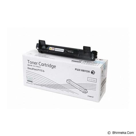 Fuji Xerox Toner Cwaa0649 Original Untuk Printer Docu Print 203a jual fuji xerox black toner ct202137 murah bhinneka