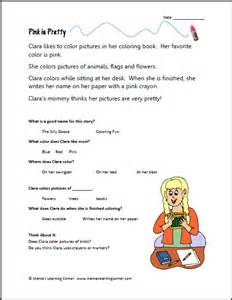 1st grade reading comprehension new calendar template site