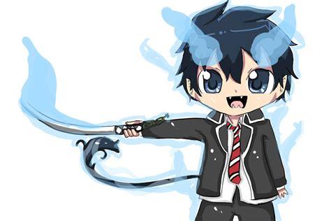 imagenes de rin okumura kawaii so kawaii blue exorcist photo 37768008 fanpop