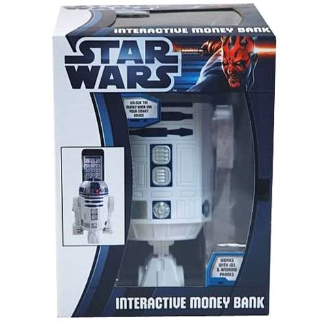 Wars R2 D2 Powerbank wars r2 d2 interactive money bank zeon wars