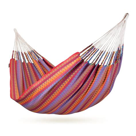 Fabric Hammocks shop la siesta carolina flowers fabric hammock at lowes