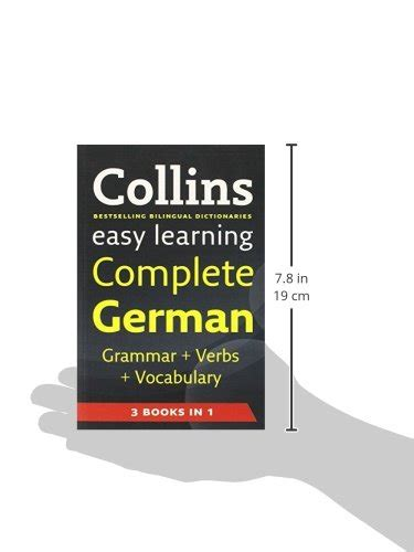 libro easy learning french complete libro easy learning complete german grammar verbs and vocabulary 3 books in 1 collins easy