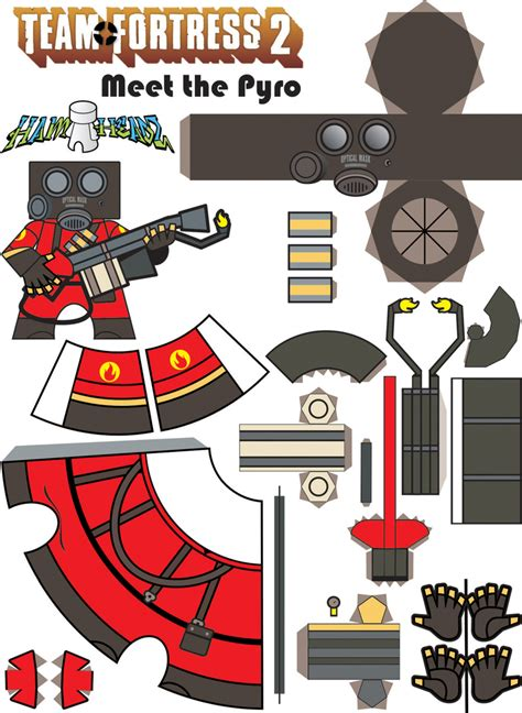 Tf2 Papercraft - steam community guide tf2 paper models