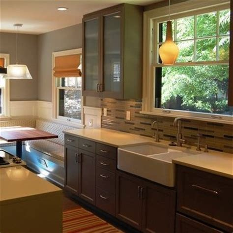 galley kitchen with breakfast nook pin by marisa williams on kitchen