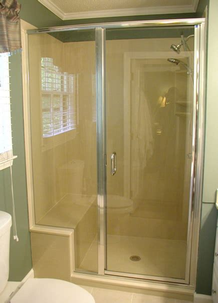 framed glass shower doors framed shower door photo gallery precision glass