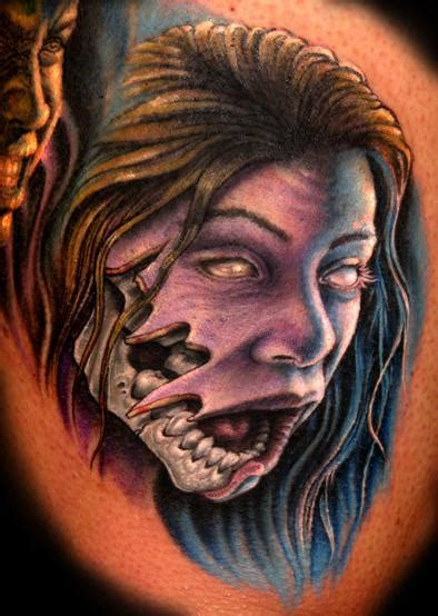 zombie girl tattoo designs bali design