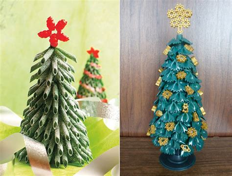 Holiday Craft Projects - 12 creative diy christmas tree ideas design swan