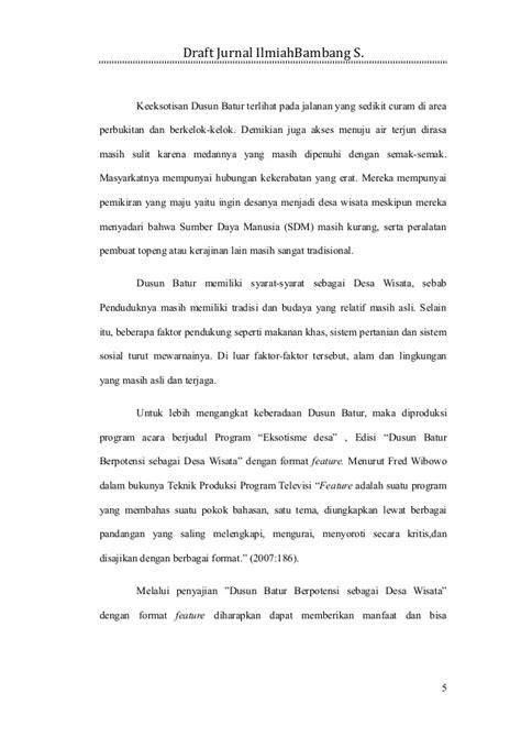 format jurnal contoh format penulisan jurnal internasional contoh u