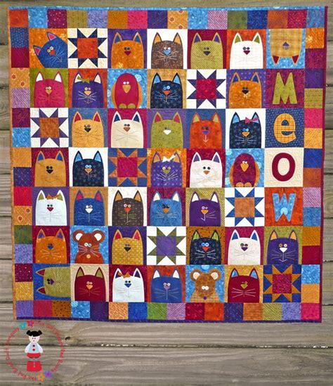 Applique Cat Quilt Patterns by 25 Best Ideas About Cat Applique On Cat