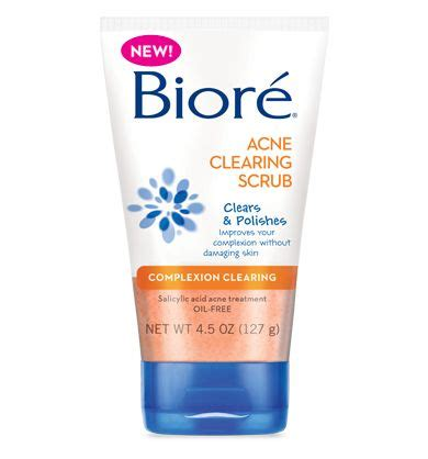 Acne Gentle Scrub 25 best ideas about biore wash on skincare routine biore mask and biore