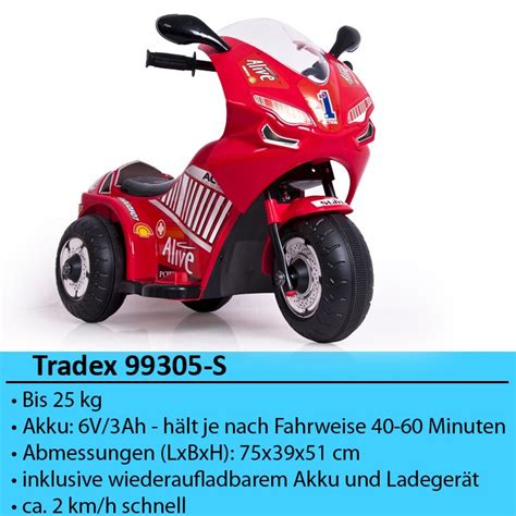 Dreiräder Motorrad by Elektro Dreirad Kinder Drike Trike Akku Elektrisch E Trike