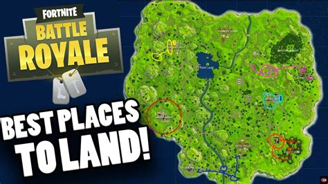 fortnite locations best places to land in fortnite best legendary loot
