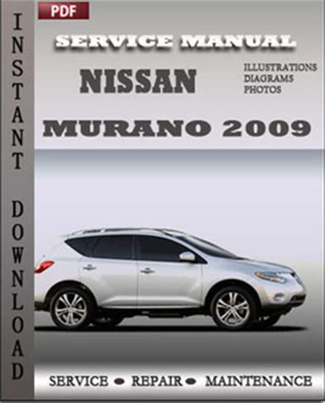 download car manuals pdf free 2004 nissan murano parking system nissan murano 2009 workshop repair manual pdf servicerepairmanualdownload com