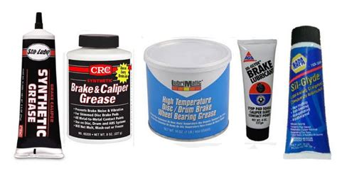 Car Grease Types by Brake Lubricants