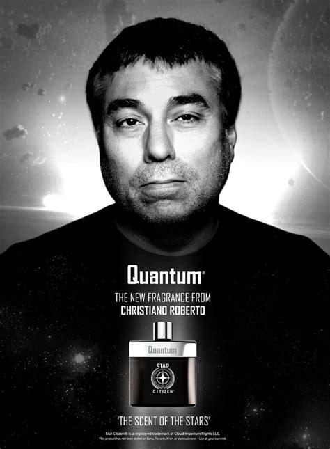 Eau de Quantum - Le parfum Star Citizen de Christiano Roberto