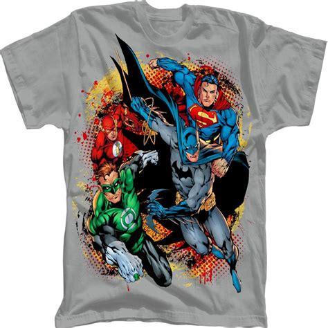 T Shirt Justice League Dc Justice League 28 dc comics boy s graphic t shirt justice league of america