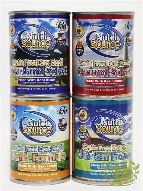 nutrisource food nutrisource grain free canned food