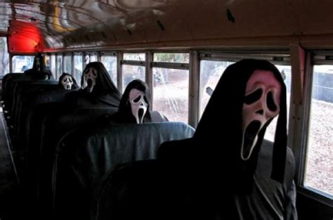 film ghost bus looks like there will be more than one ghostface in scream