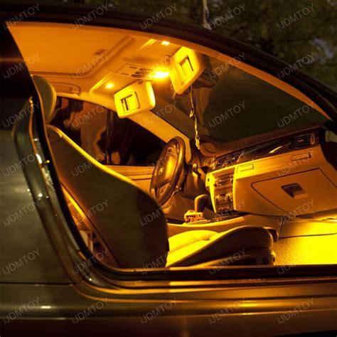 yellow light on car 5 smd 168 194 led bulbs for car interior lights license