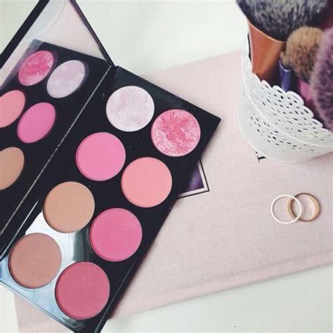 blush pink desk l up blush pink makeup palette cheek blush