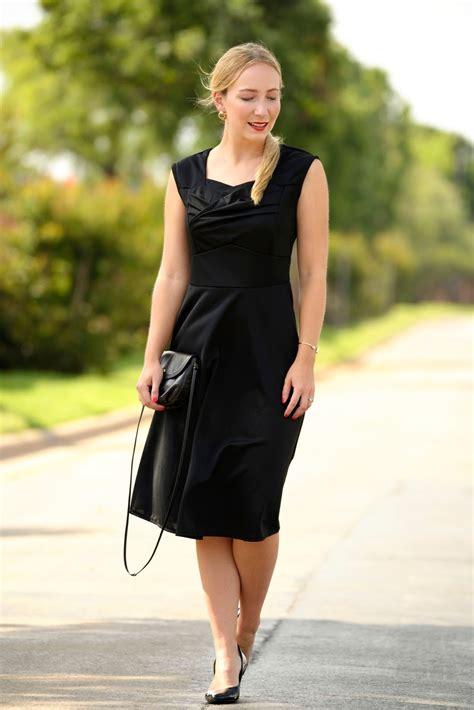 firmung wann the black dress i the kontemporary