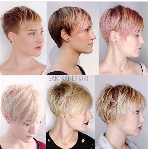 growing out undercut hair growing out a short pixie cut samkanehair pinteres
