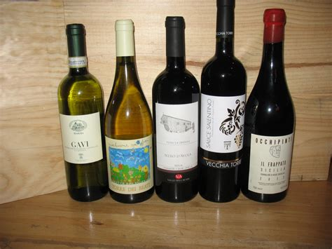 traditional and indigenous wines of italy table wine