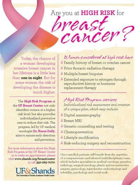 breast cancer brochure template free 12 breast cancer brochure template free high risk