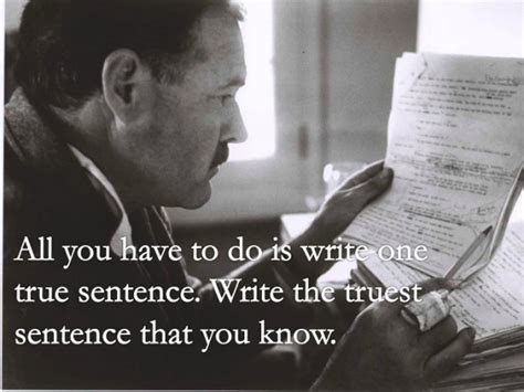 Hemingway Quotes On Writing 23 essential ernest hemingway quotes about writing