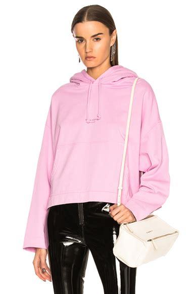 Hoodie Network Studios acne studios daze mohair sweater in grey melange fwrd