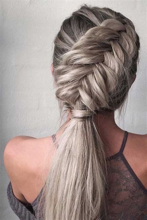 Braided Hairstyles For Hair Easy by 10 Easy Stylish Braided Hairstyles For Hair 2018
