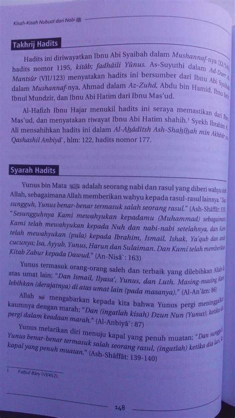 buku kisah kisah nubuat  nabi berdasarkan riwayat shahih