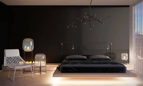 Designer Bedroom Lighting An Easy Way To Create Minimalist Bedroom Decorating Ideas With Color Concept Design Looks