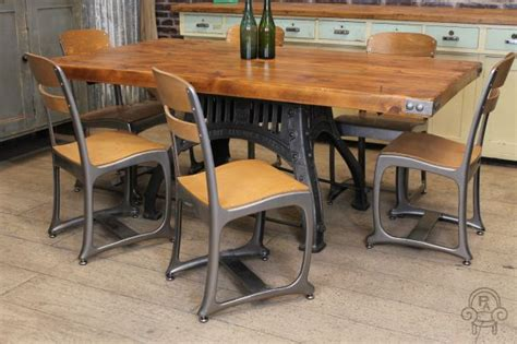 style dining tables and chairs vintage inspired chair the eton industrial style