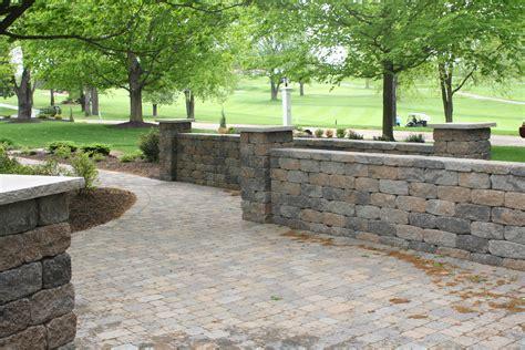 patio retaining walls retaining walls patios gumpf gardens