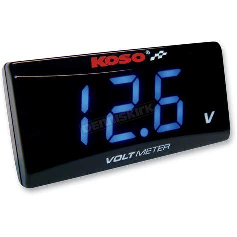 Volt Meter Merk Koso Koso America Slim Volt Meter Ba024b00 Atv