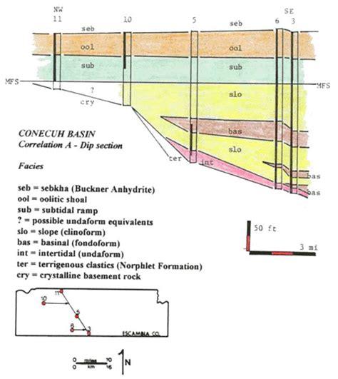 stratigraphic cross section figure 6